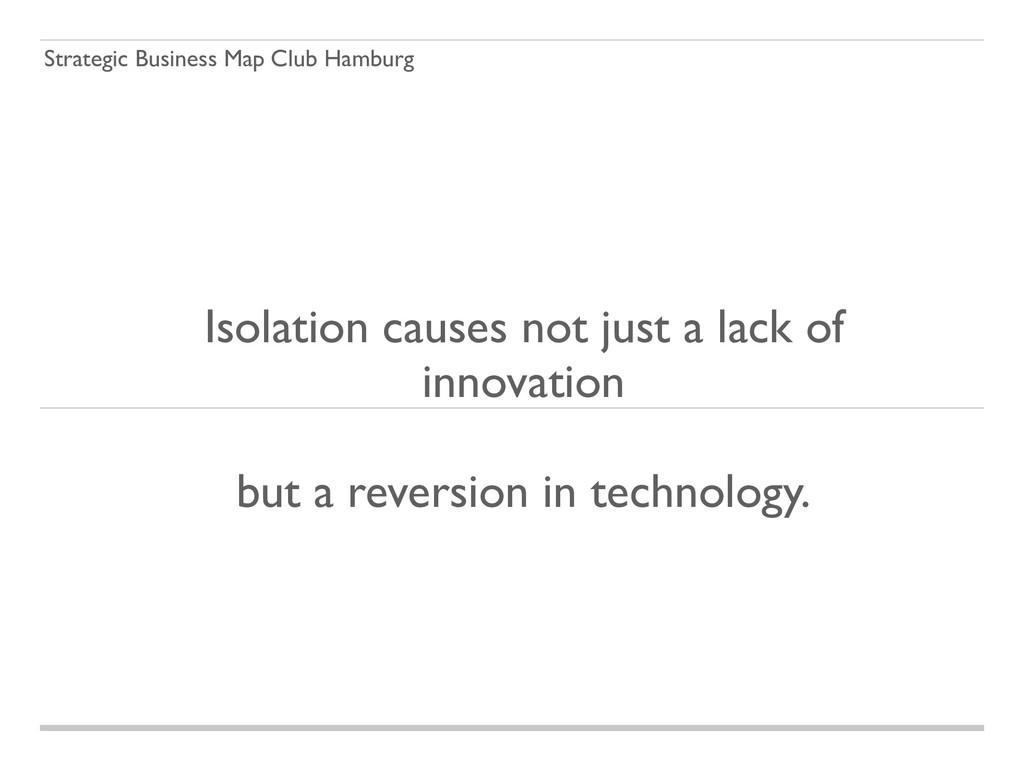 Strategic Business Map Club Hamburg Isolation c...