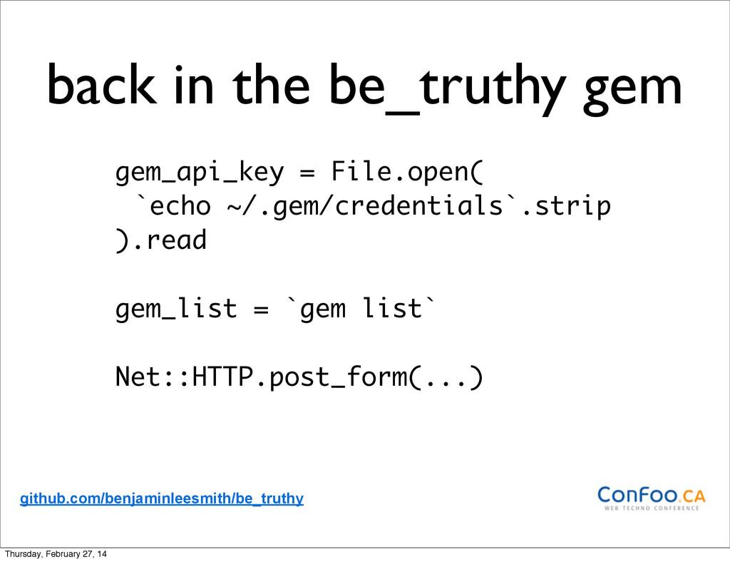 back in the be_truthy gem gem_api_key = File.op...