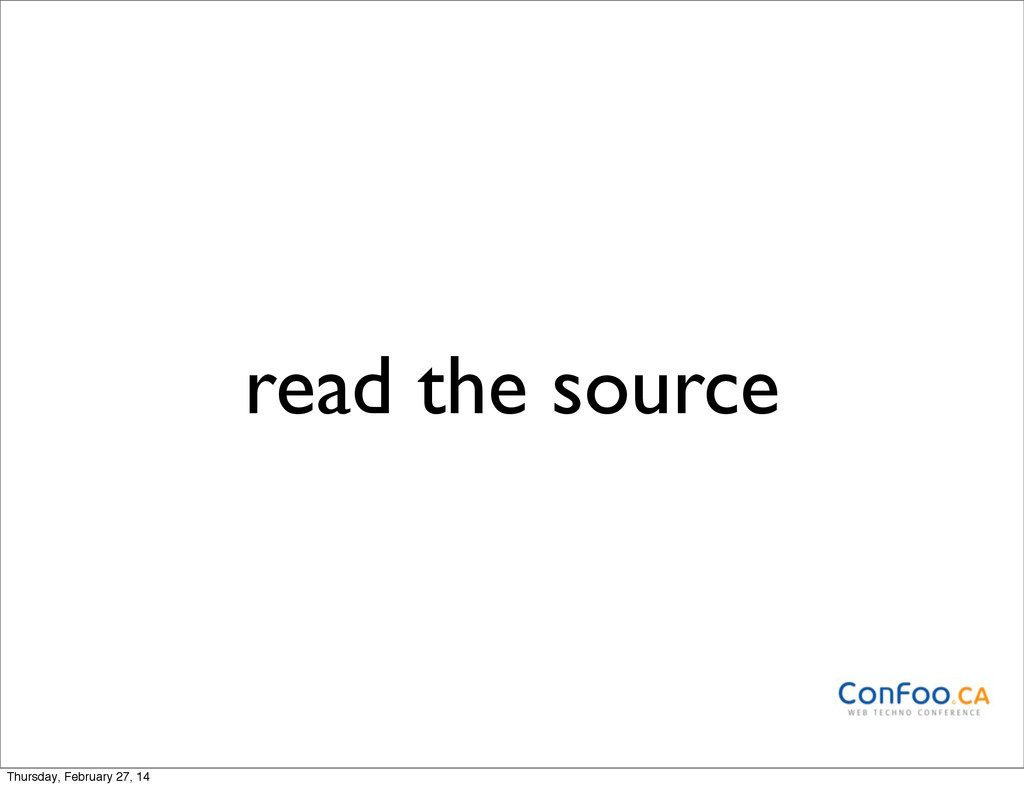 read the source Thursday, February 27, 14