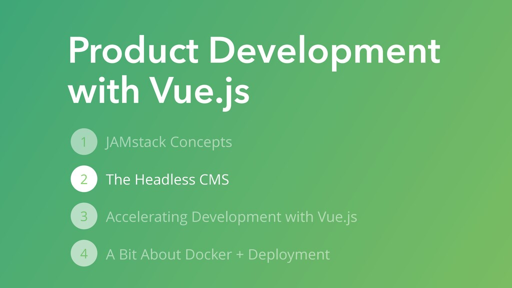 JAMstack Concepts The Headless CMS Accelerating...