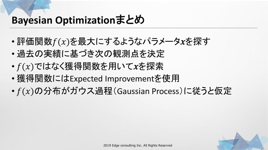 1 00 . 21 0 1 1 00 . Bayesian Optimization+&, •...