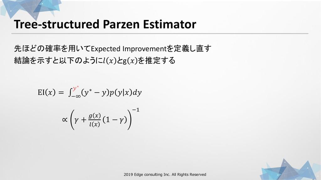 1 00 . 21 0 1 1 00 . Tree-structured Parzen Est...