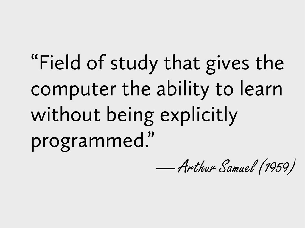 """Field of study that gives the computer the abi..."