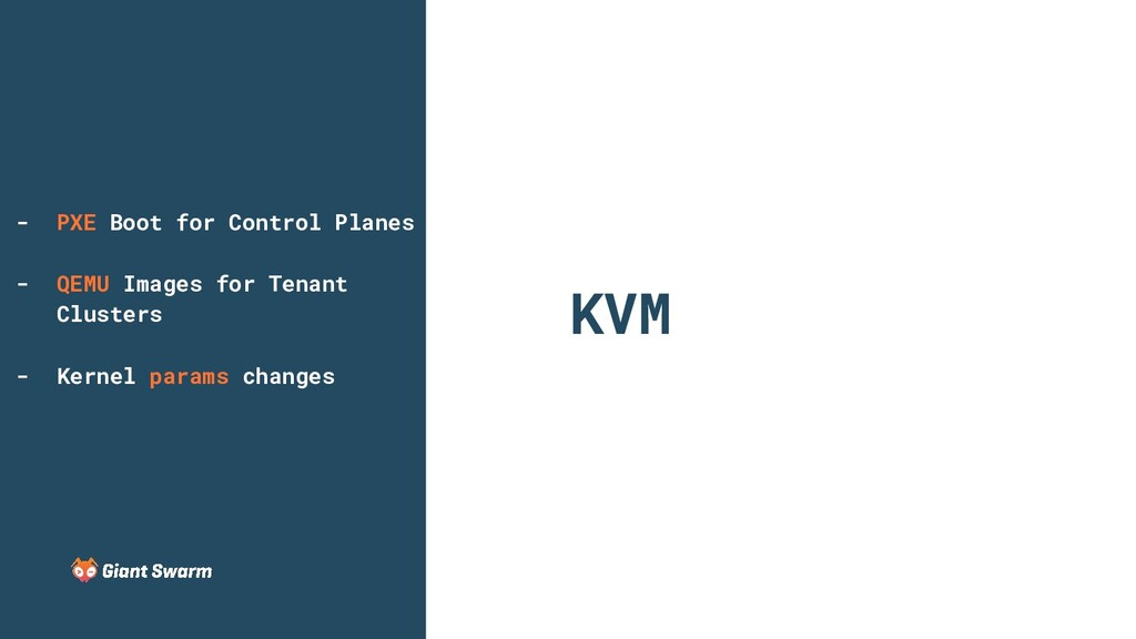 KVM - PXE Boot for Control Planes - QEMU Images...