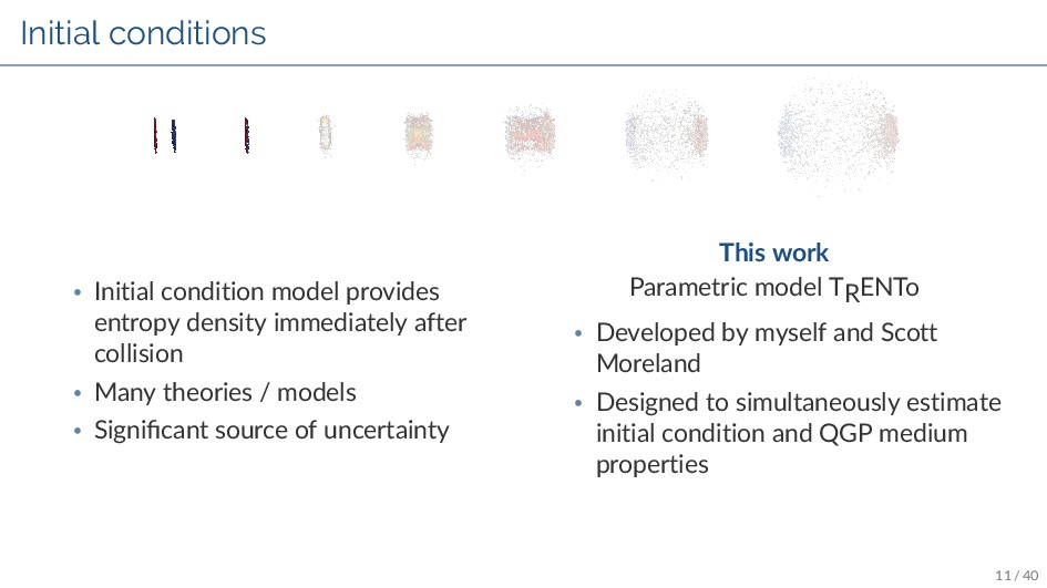 Initial conditions • Initial condition model pr...