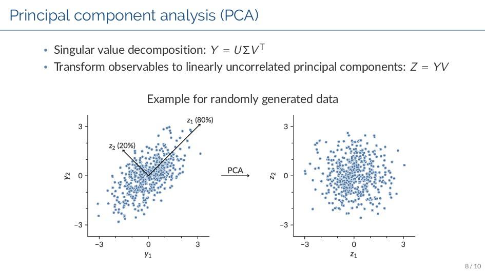 Principal component analysis (PCA) • Singular v...
