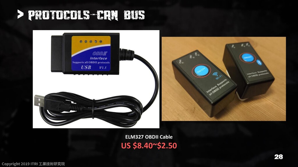 > ELM327 OBDII Cable US $8.40~$2.50