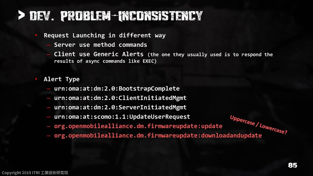 > • Request Launching in different way – Server...
