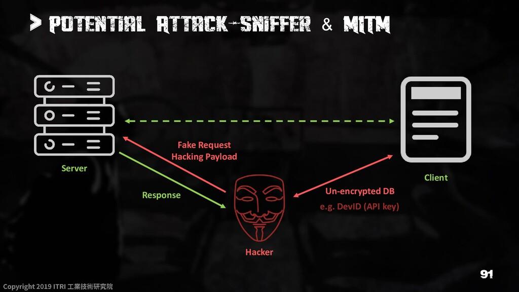 > & Server Client Hacker Un-encrypted DB Fake R...