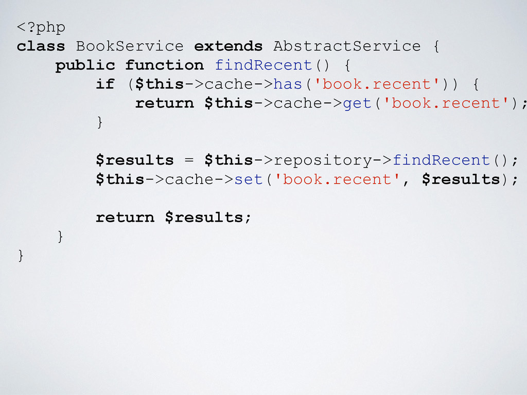 <?php class BookService extends AbstractService...