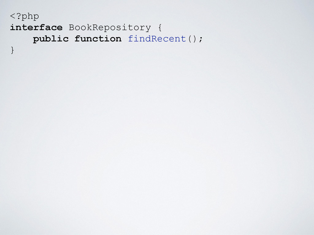 <?php interface BookRepository { public functio...