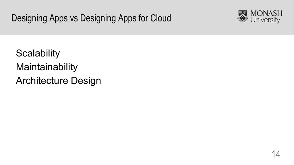 14 Designing Apps vs Designing Apps for Cloud S...
