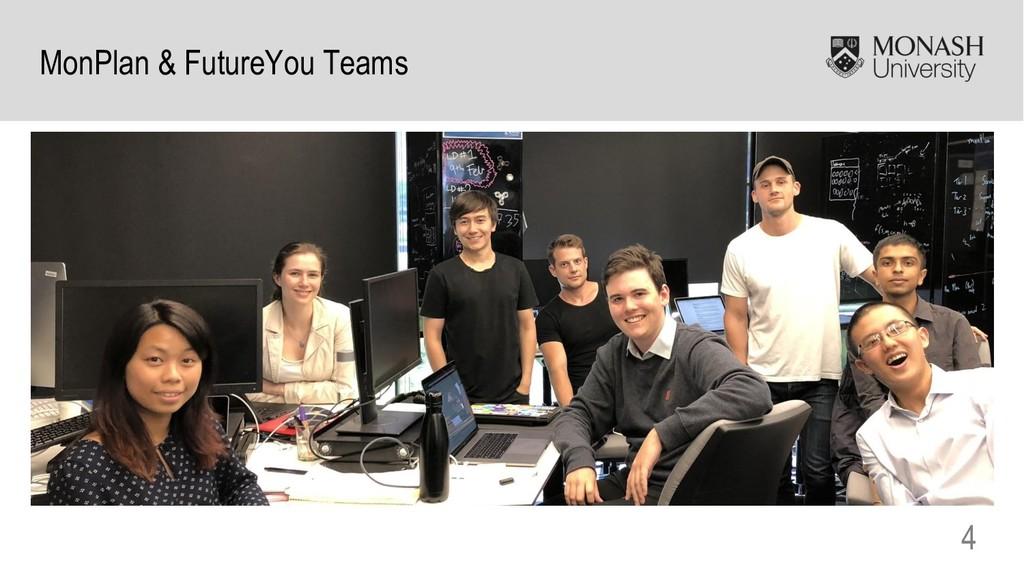 4 MonPlan & FutureYou Teams