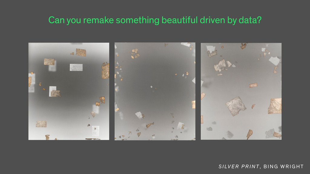 Can you remake something beautiful driven by da...
