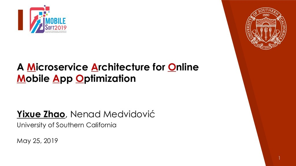 1 A Microservice Architecture for Online Mobile...