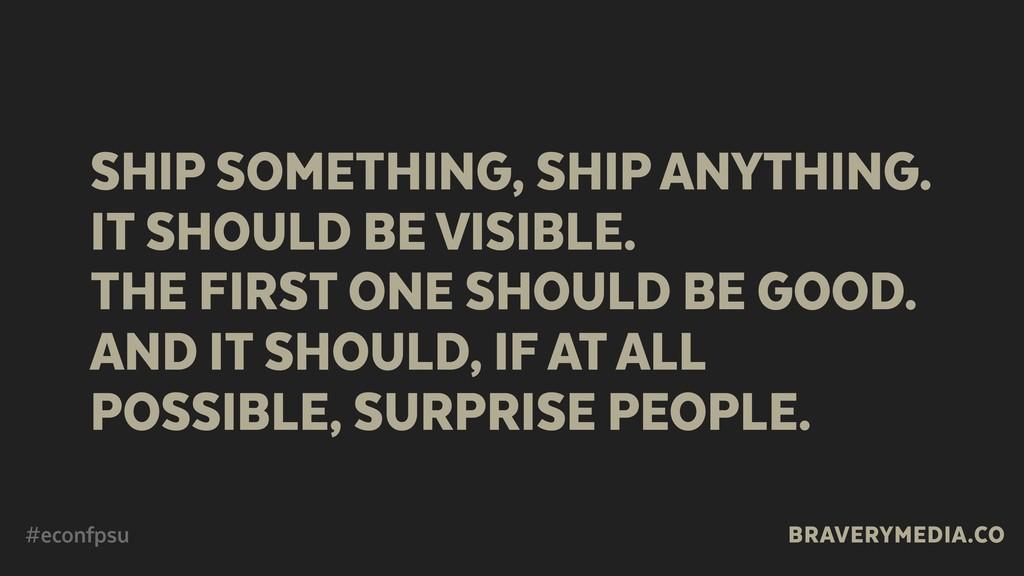 BRAVERYMEDIA.CO SHIP SOMETHING, SHIP ANYTHING. ...