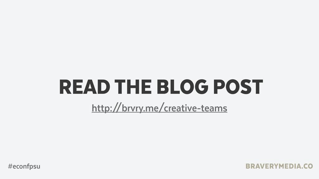 BRAVERYMEDIA.CO READ THE BLOG POST #econfpsu ht...