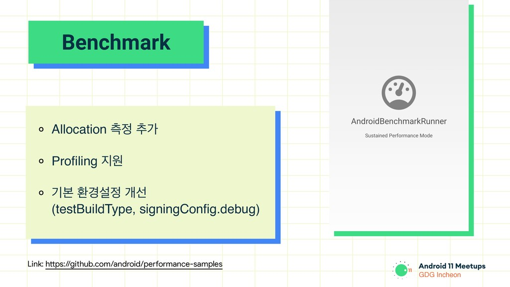 GDG Incheon Benchmark ० Allocation ஏ੿ ୶о ० Prof...