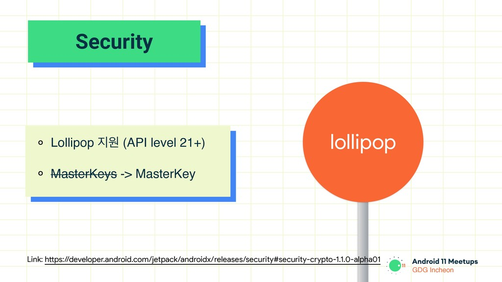 GDG Incheon Security lollipop ० Lollipop ૑ਗ (AP...