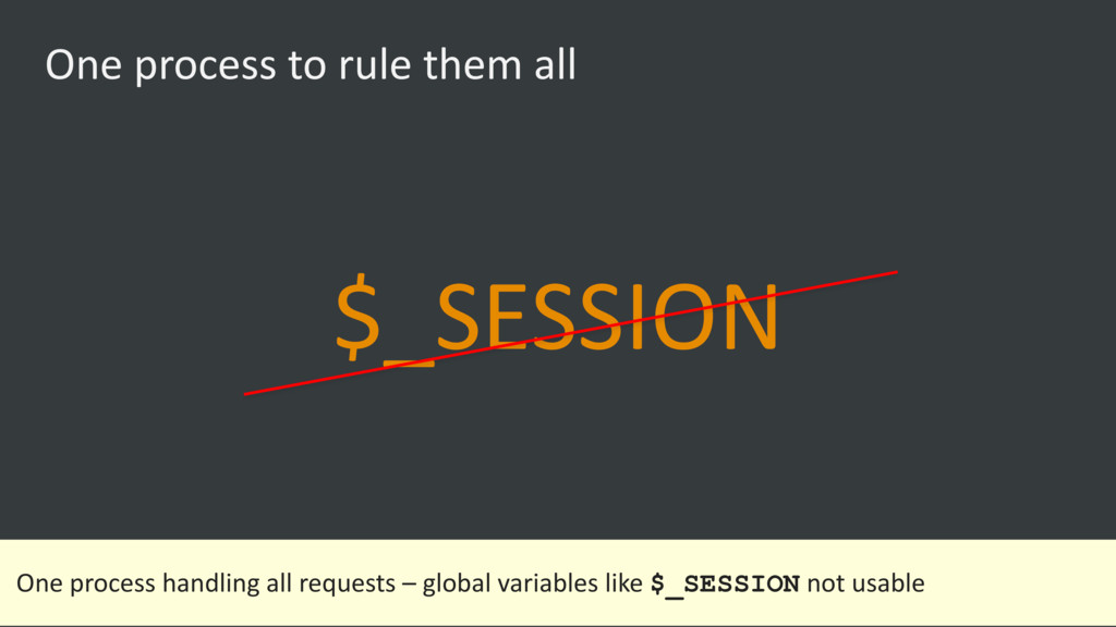 One process to rule them all $_SESSION One proc...