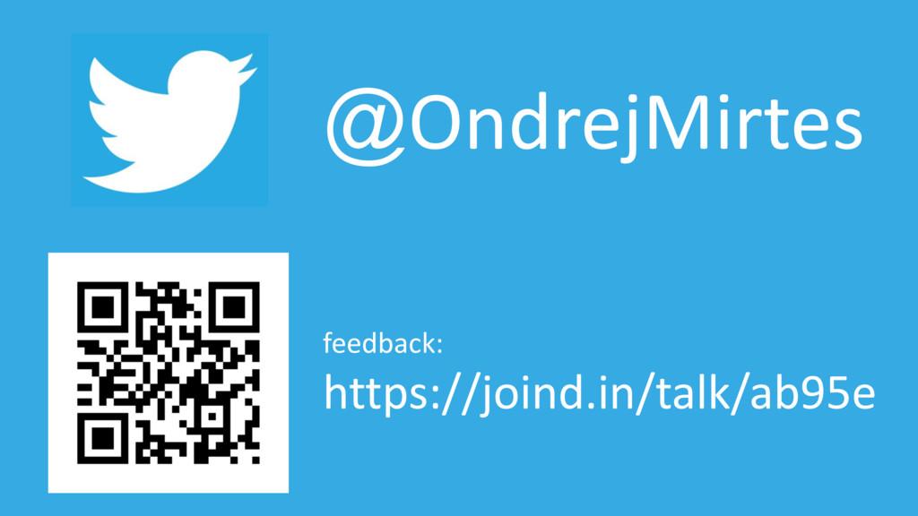 @OndrejMirtes feedback: https://joind.in/talk/a...