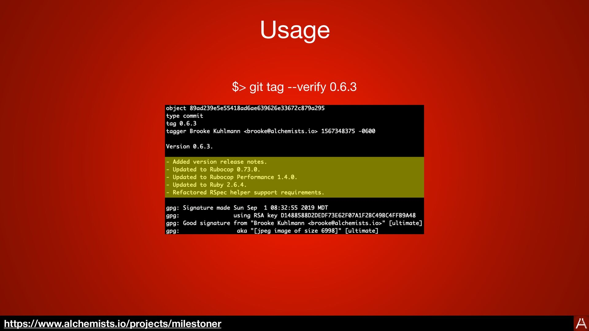 Configuration :git_commit_prefixes:  - Fixed  - A...