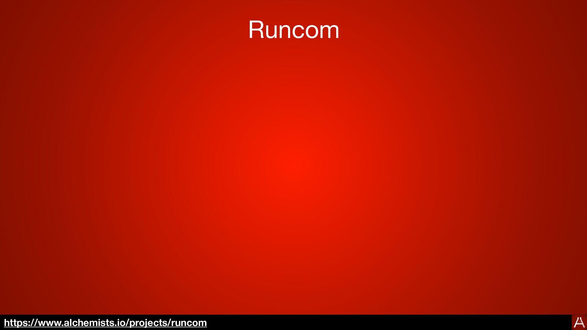 Runcom Cache  <project>/.cache/milestoner/*.* C...