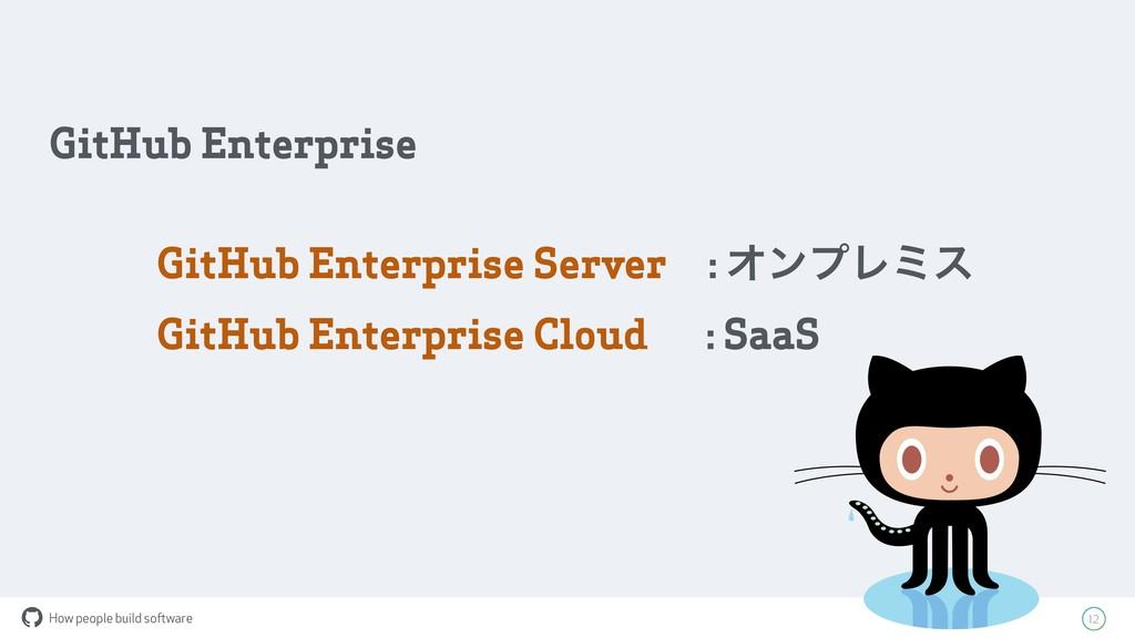 How people build software ! 12 GitHub Enterpris...