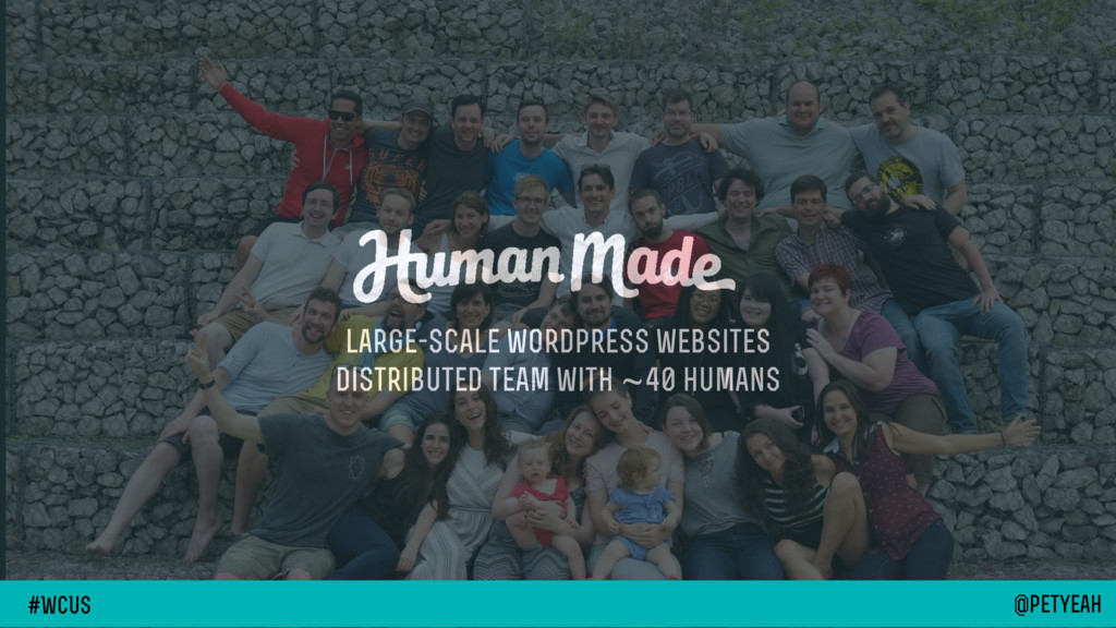 large-scale wordpress websites distributed team...