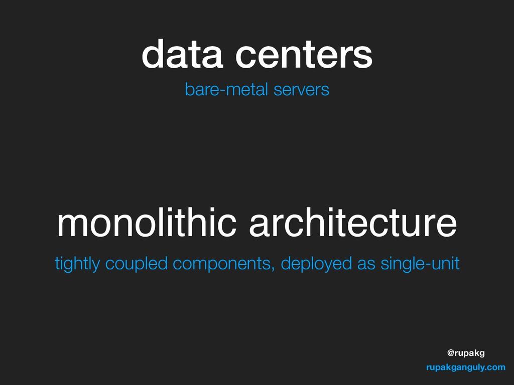@rupakg rupakganguly.com data centers monolithi...