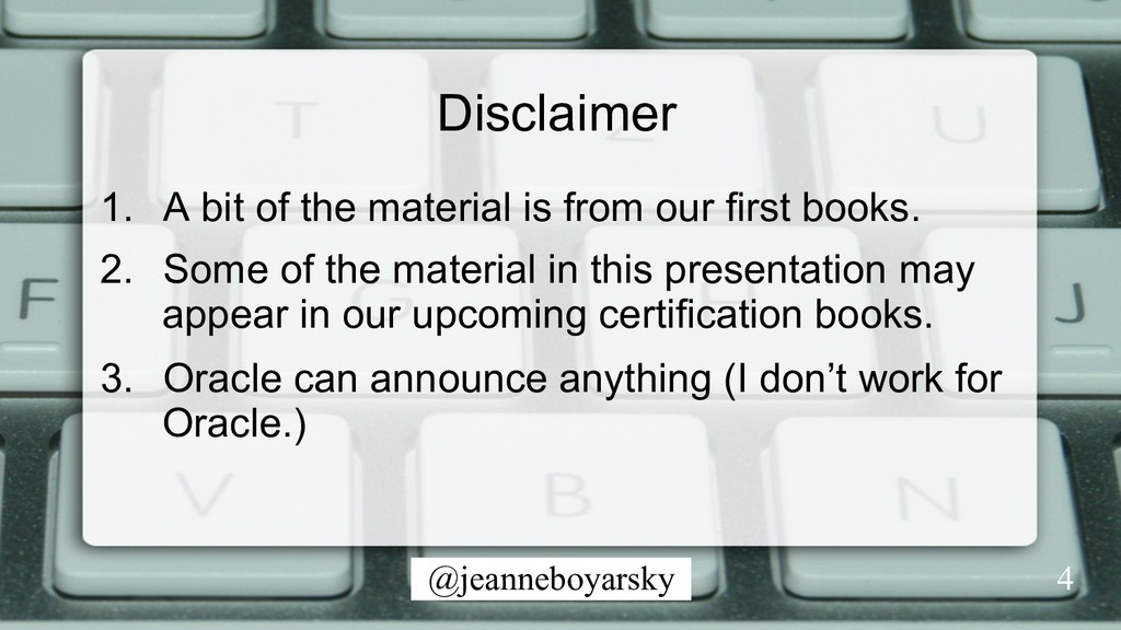 @jeanneboyarsky Disclaimer 1.  A bit of the mat...