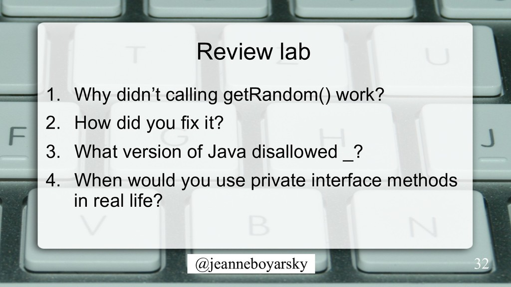 @jeanneboyarsky Review lab 1.  Why didn't calli...
