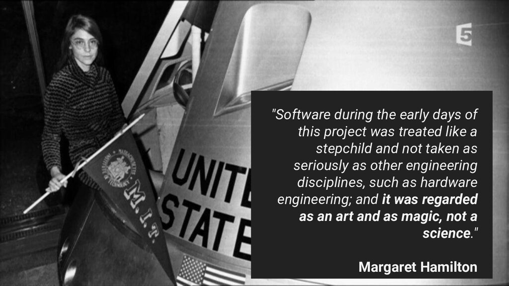 """Software during the early days of this project..."