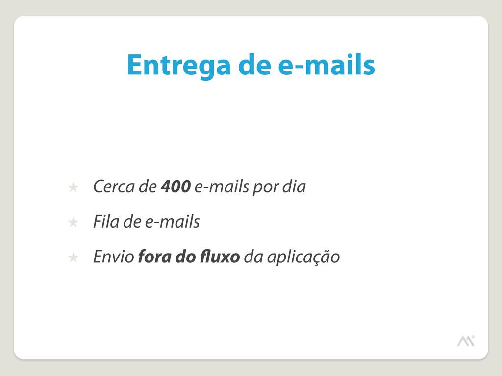Entrega de e-mails ★ Cerca de 400 e-mails por d...