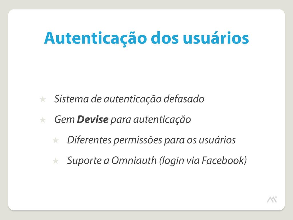 Autenticação dos usuários ★ Sistema de autentic...