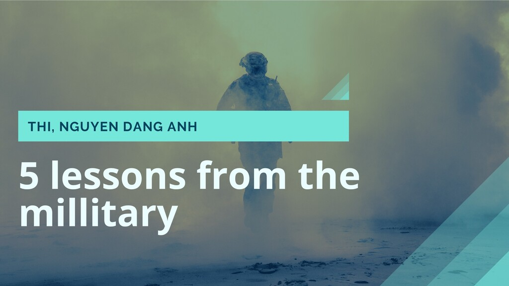5 lessons from the millitary THI, NGUYEN DANG A...