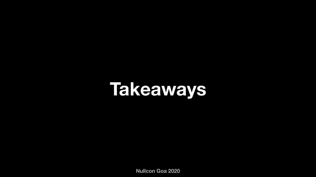 Nullcon Goa 2020 Takeaways