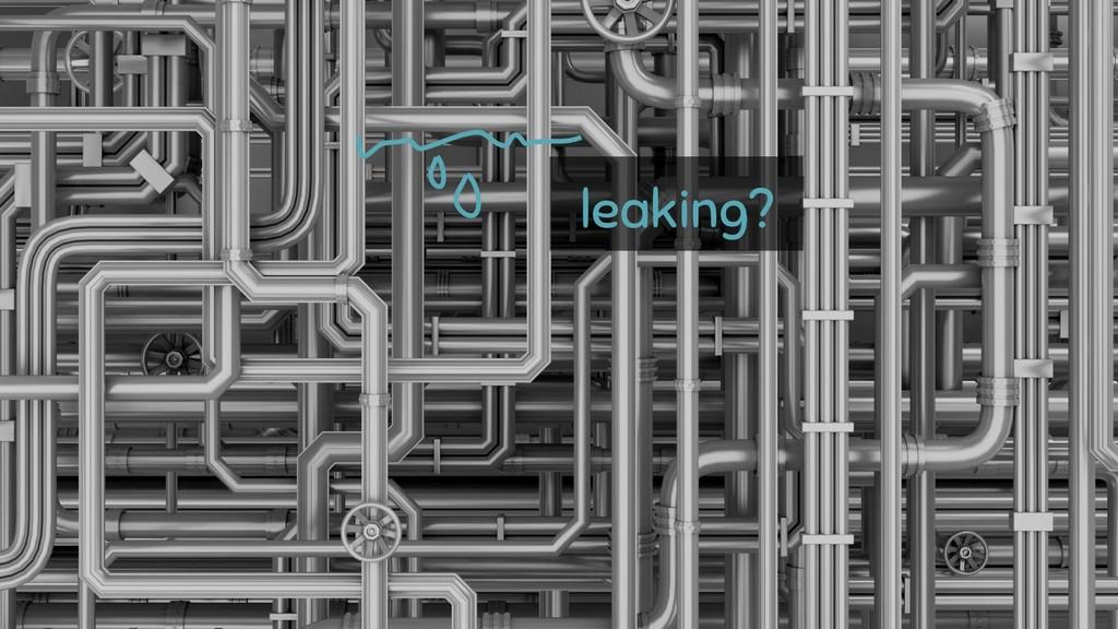 @rakyll leaking?