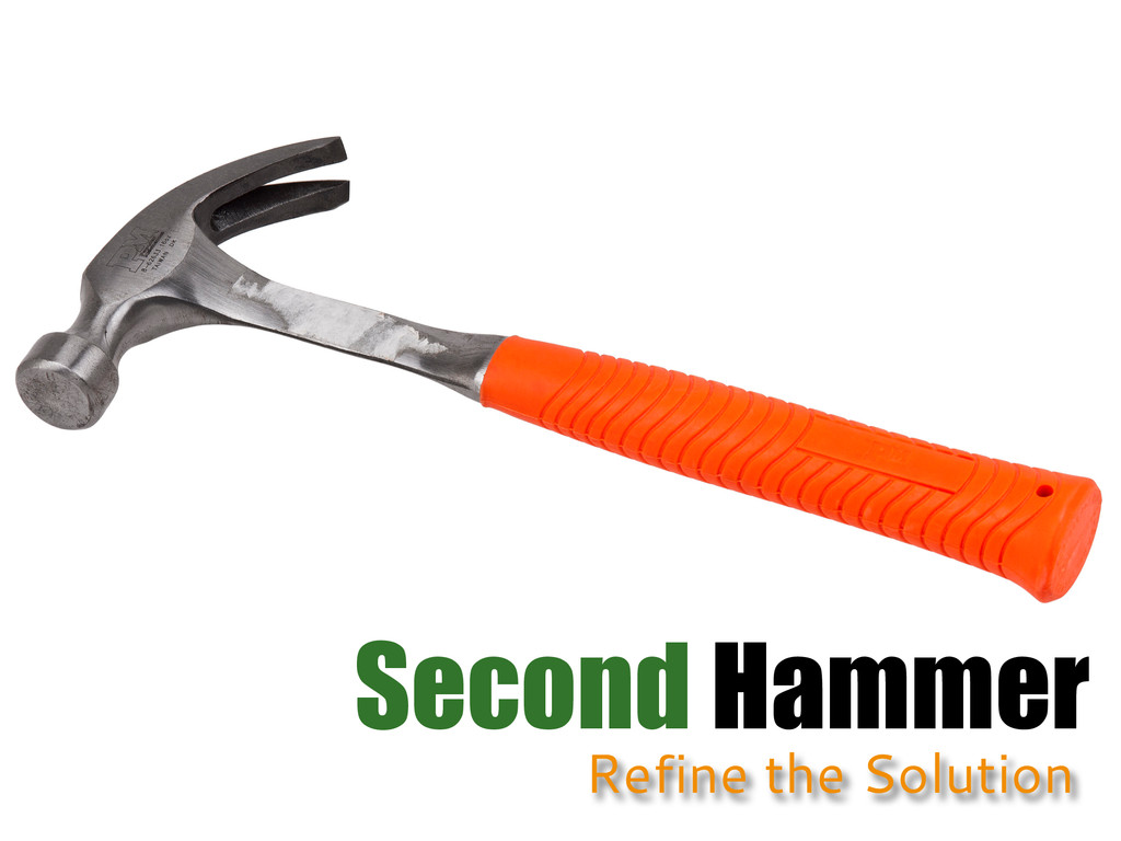 Second Hammer Refine the Solution