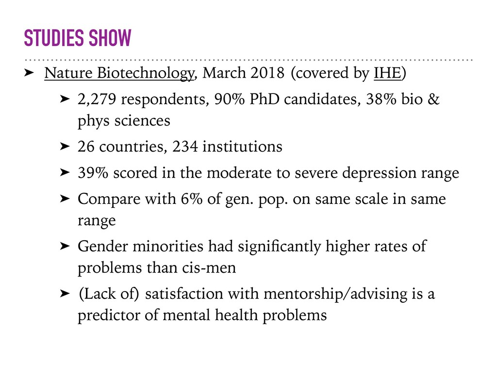STUDIES SHOW ➤ Nature Biotechnology, March 2018...