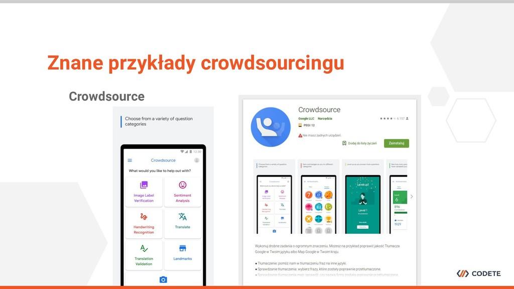 Crowdsource Znane przykłady crowdsourcingu