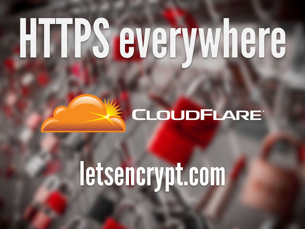 HTTPS everywhere letsencrypt.com