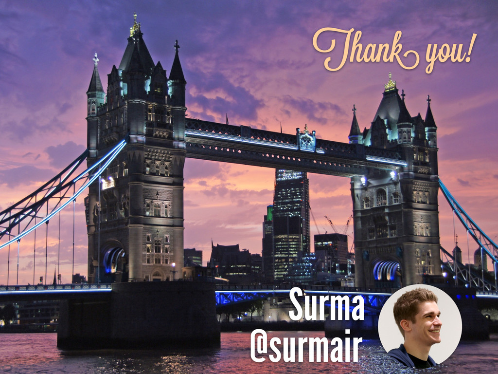 Surma @surmair Thank you!