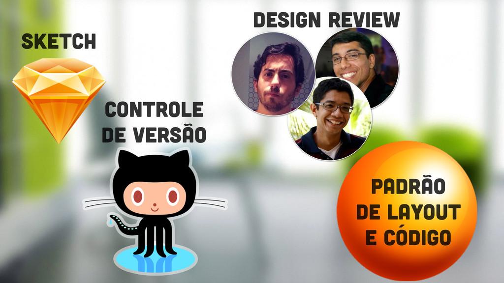Sketch controle de versão design review padrão ...
