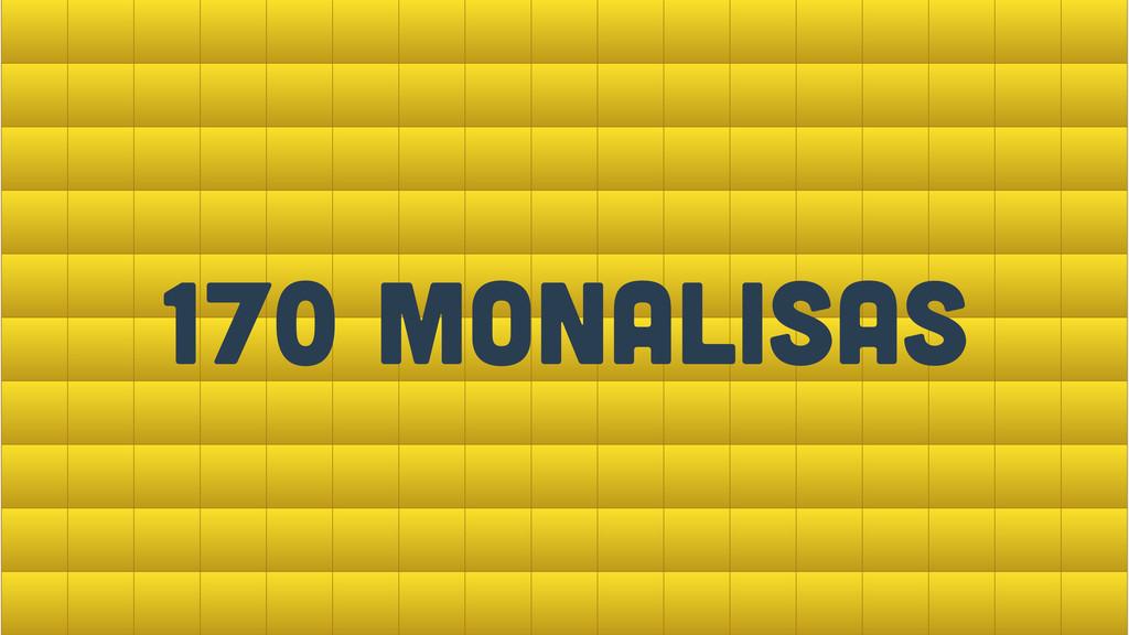 apenas 8.4kb! 170 Monalisas