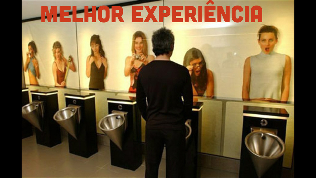 melhor experiência
