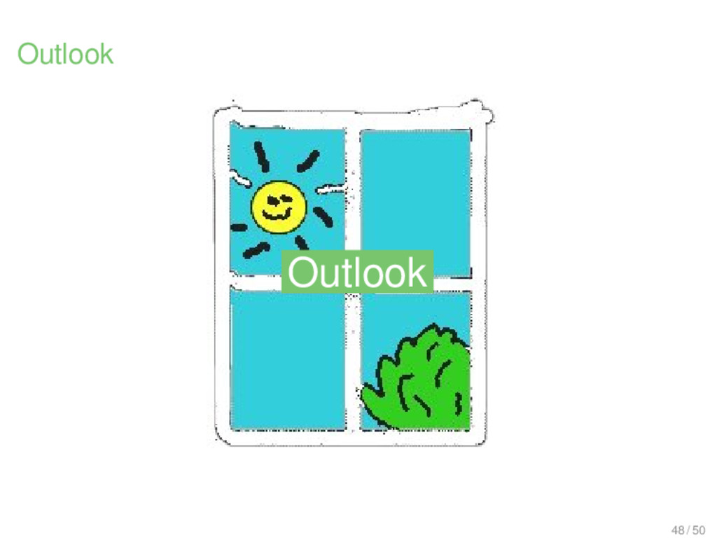 Outlook Outlook Outlook 48 / 50