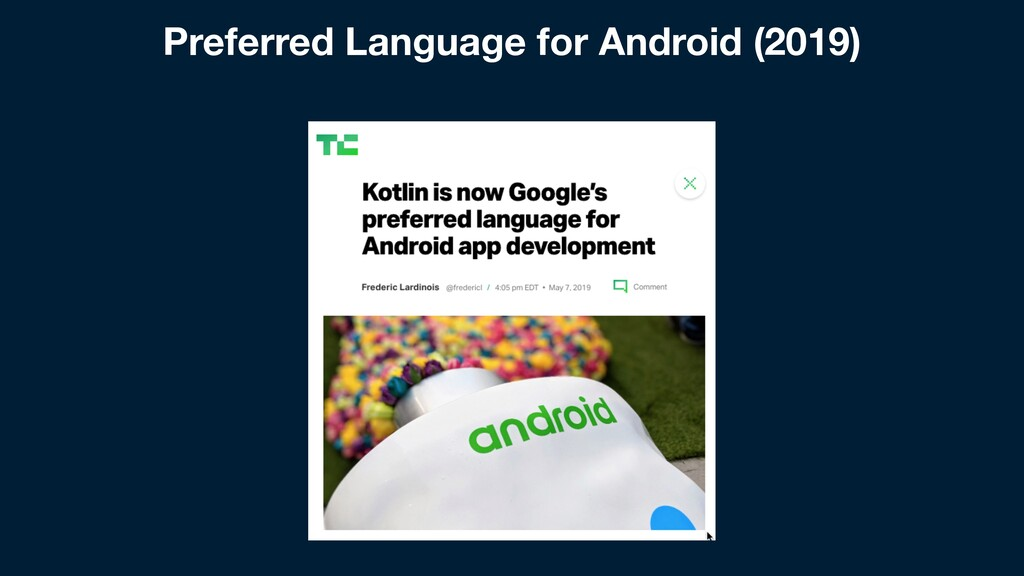 Preferred Language for Android (2019)