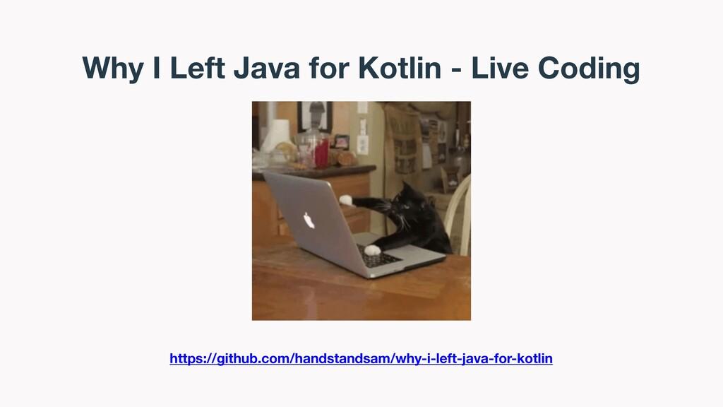 Why I Left Java for Kotlin - Live Coding https:...