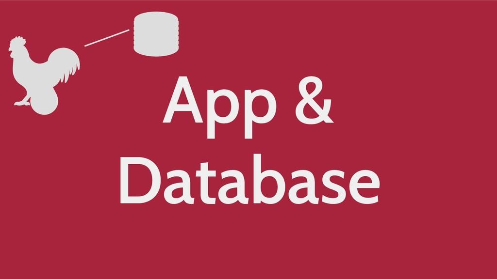 App & Database